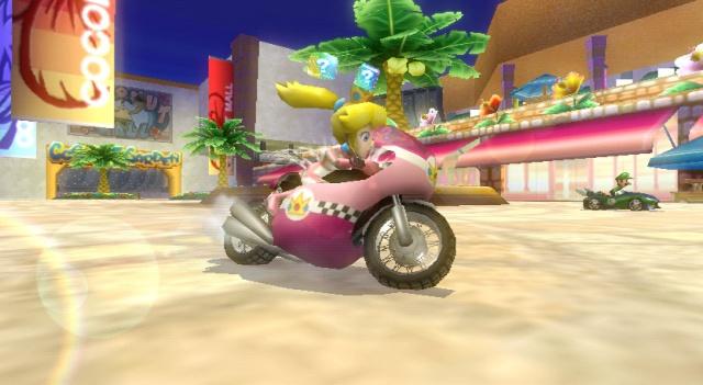 Mario Kart Wii - ça c'est d'la bombe, vous voyez de quoi j'parle :)