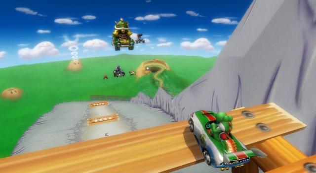 Mario Kart Wii - La Montagne DK remaniée ! Le chemin à prendre est un peu différent maintenant !!